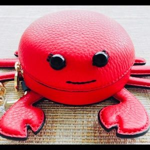AUTHENTIC TORY BURCH CRAB KEYCHAIN/FOB